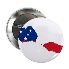 "Samoa Flag and Map 2.25"" Button (10 pack)"