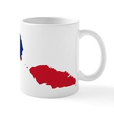 Samoa Flag and Map Mug