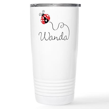 Ladybug Wanda Stainless Steel Travel Mug