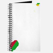 Sao Tome and Principe Flag and Map Journal