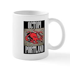 Octopi Portland (rainy version) Mug