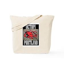 Octopi Portland (rainy version) Tote Bag