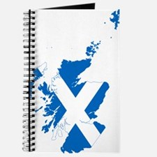 Scotland Flag and Map Journal