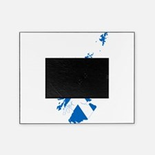 Scotland Flag and Map Picture Frame