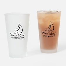 IWJ Logo Drinking Glass