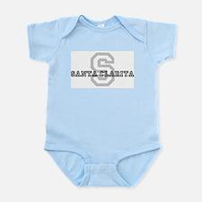 Santa Clarita (Big Letter) Infant Creeper