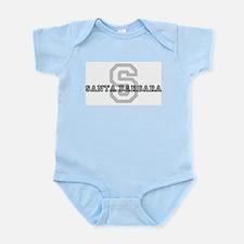 Santa Barbara (Big Letter) Infant Creeper