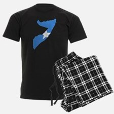 Somalia Flag and Map Pajamas
