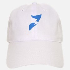 Somalia Flag and Map Baseball Baseball Cap