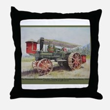 The Minneapolis Steam Tractor Throw Pillow
