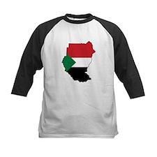 Flag Map of Sudan Tee