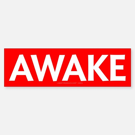 Awake Sticker (Bumper)