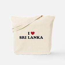 I Love Sri Lanka Tote Bag