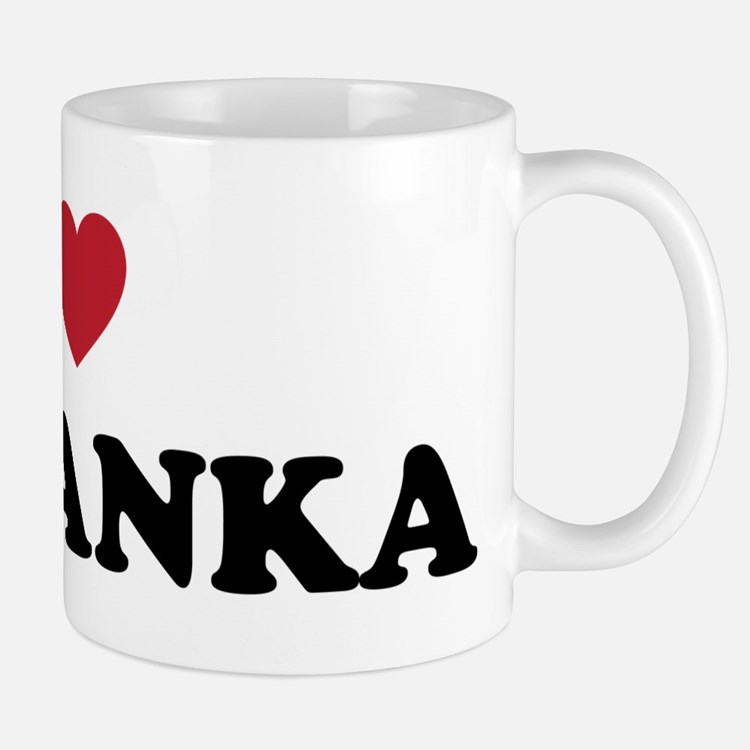 I Love Sri Lanka Mug