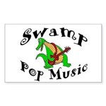 Swamp Pop Music Sticker