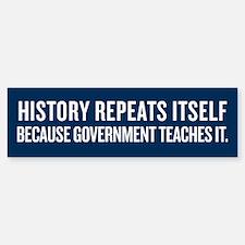 History Repeats Itself Sticker (Bumper)