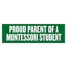 Montessori Parent Car Car Sticker