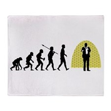 Stand-Up Comedian Throw Blanket