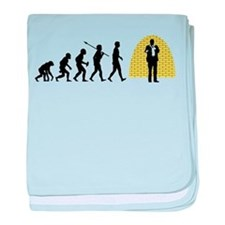 Stand-Up Comedian baby blanket