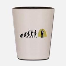Stand-Up Comedian Shot Glass
