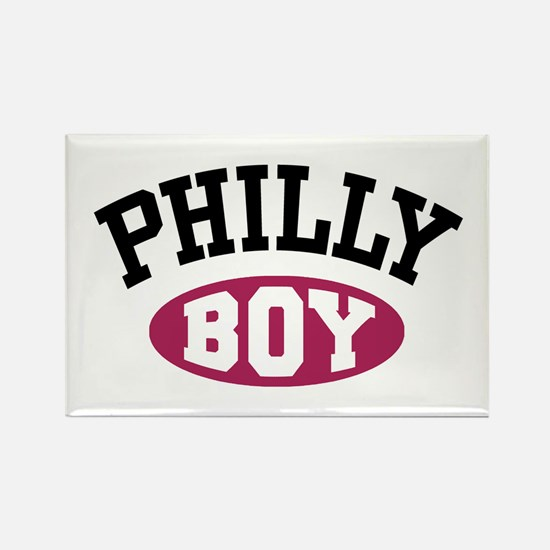 Philly Boy Rectangle Magnet