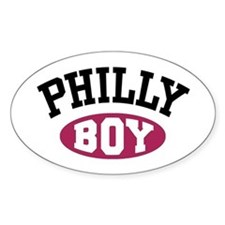 Philly Boy Oval Decal