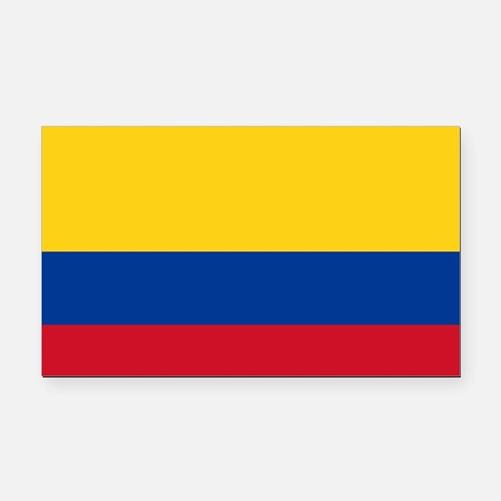 Flag of Colombia Rectangle Car Magnet