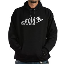 evoluiton snowboard Hoodie