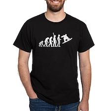 evoluiton snowboard T-Shirt