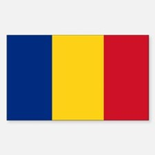 Flag of Romania Decal