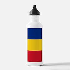 Flag of Romania Water Bottle