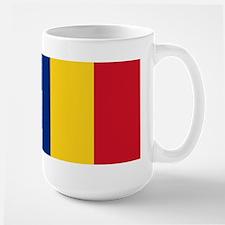 Flag of Romania Large Mug