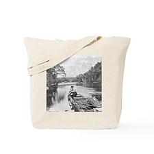 Cute Missouri river Tote Bag