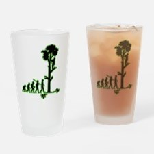 Tree Trimmer Drinking Glass