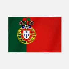 Portuguese Football Flag Rectangle Magnet