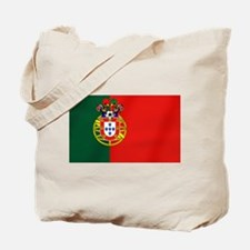 Portuguese Football Flag Tote Bag