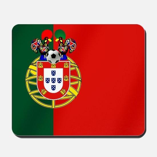 Portuguese Football Flag Mousepad