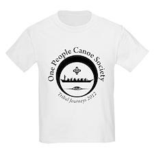 One People Canoe Society Tribal Journeys 2012 T-Shirt