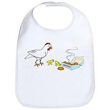 Reality Sucks Chicken with Nuggets Bib