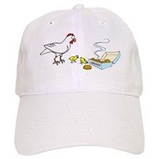 Reality Sucks Chicken with Nuggets Baseball Cap