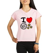 I <3 Boo Bees Performance Dry T-Shirt