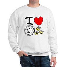I <3 Boo Bees Sweatshirt