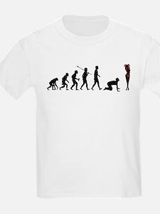 Girl Stripping T-Shirt