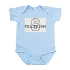 San Bruno (Big Letter) Infant Creeper