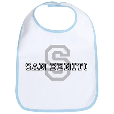 San Benito (Big Letter) Bib