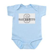 San Benito (Big Letter) Infant Creeper