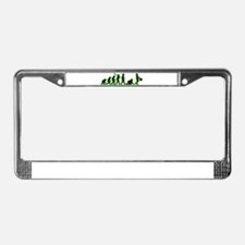 Slave To Women License Plate Frame