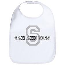 San Andreas (Big Letter) Bib