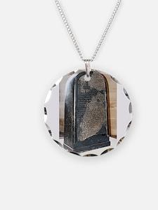 Moabite Stone (Mesha Stele) Necklace
