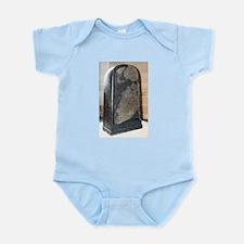 Moabite Stone (Mesha Stele) Infant Bodysuit